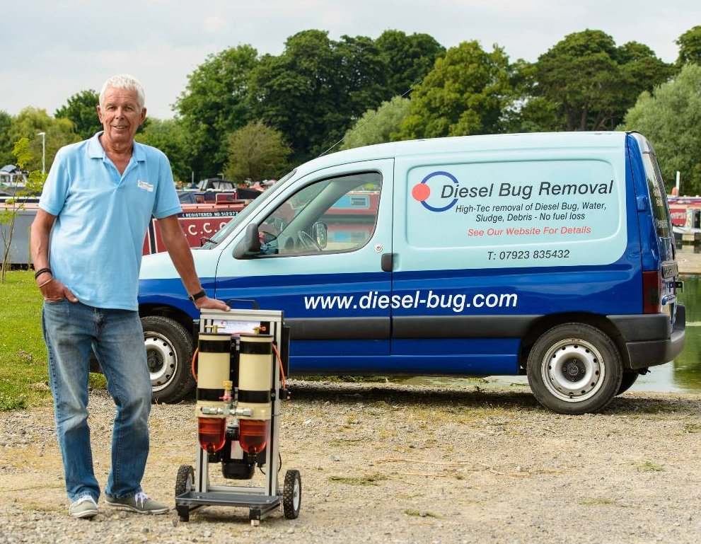 Diesel bug treatment. Mobile diesel bug removal callout service